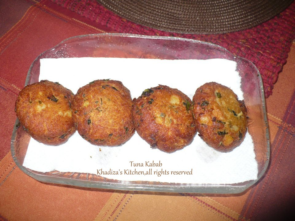 Tuna Kabab, A very easy-peasy recipe.. | Khadiza's Kitchen