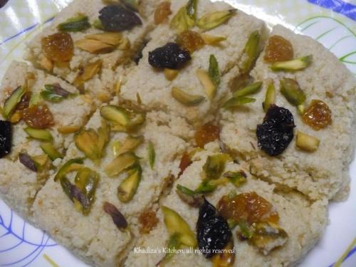 Kalakand/ Indian Milk Cake