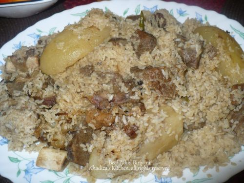 Beef Pakki Biriyani