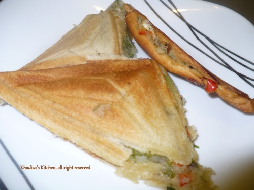 Potato Sandwich...Believe me, it's tasty..:D