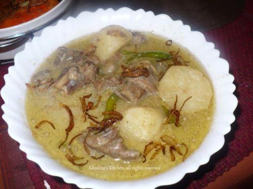 Mutton/Lamb Korma (khashir korma)