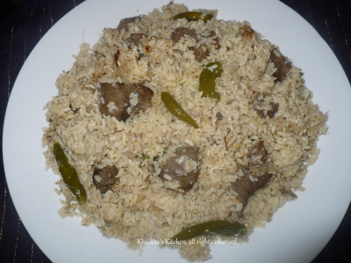 Old Dhaka Style Beef Tehari