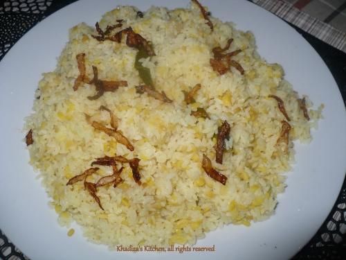 White Khichuri/ Shada Khichuri