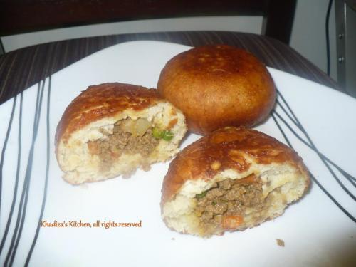 Stuffed Beef Bun