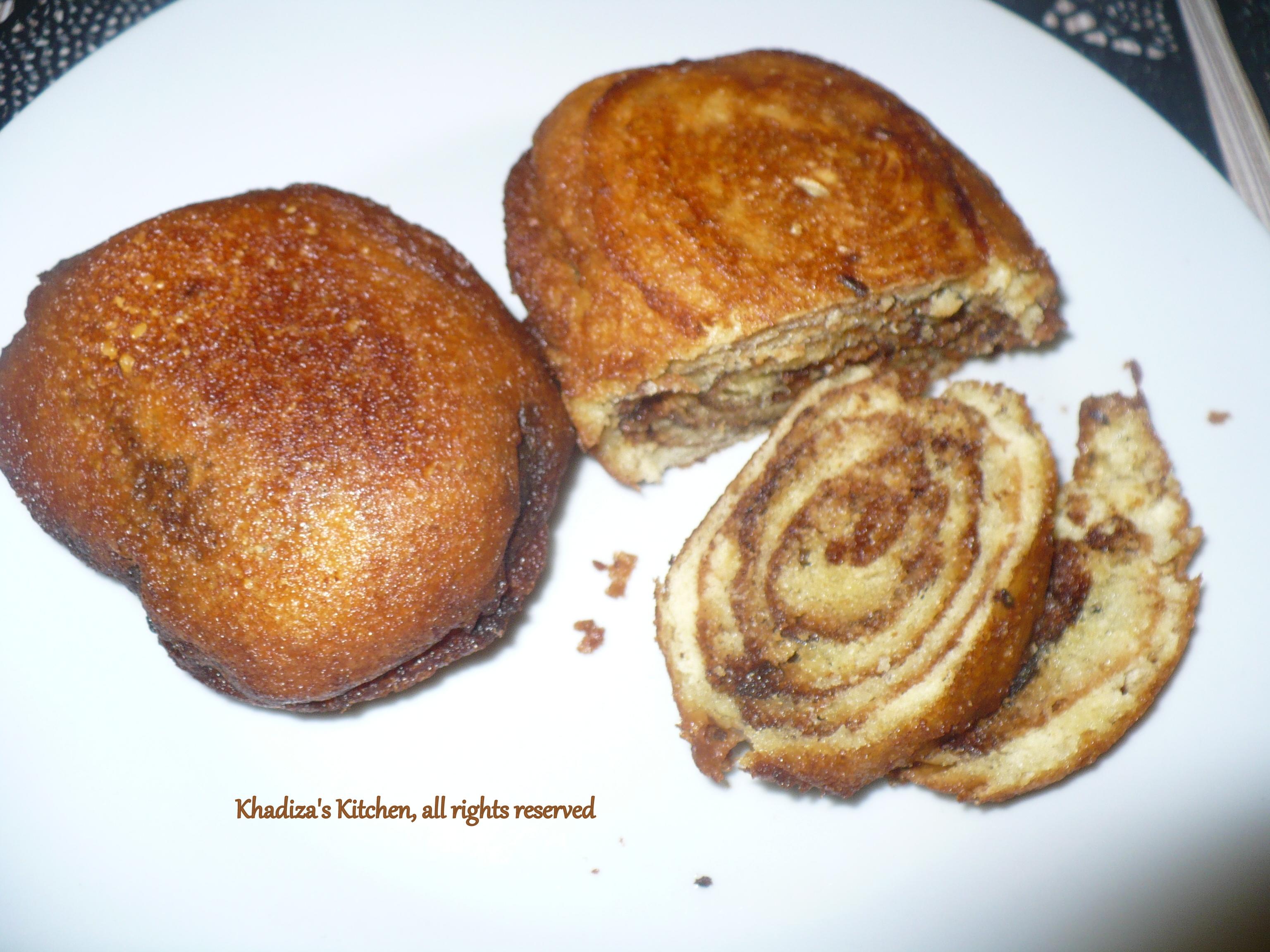 Traditional Cake Pitha Fried Cake Khadiza S Kitchen