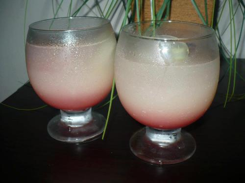 Pink Heart Mocktail