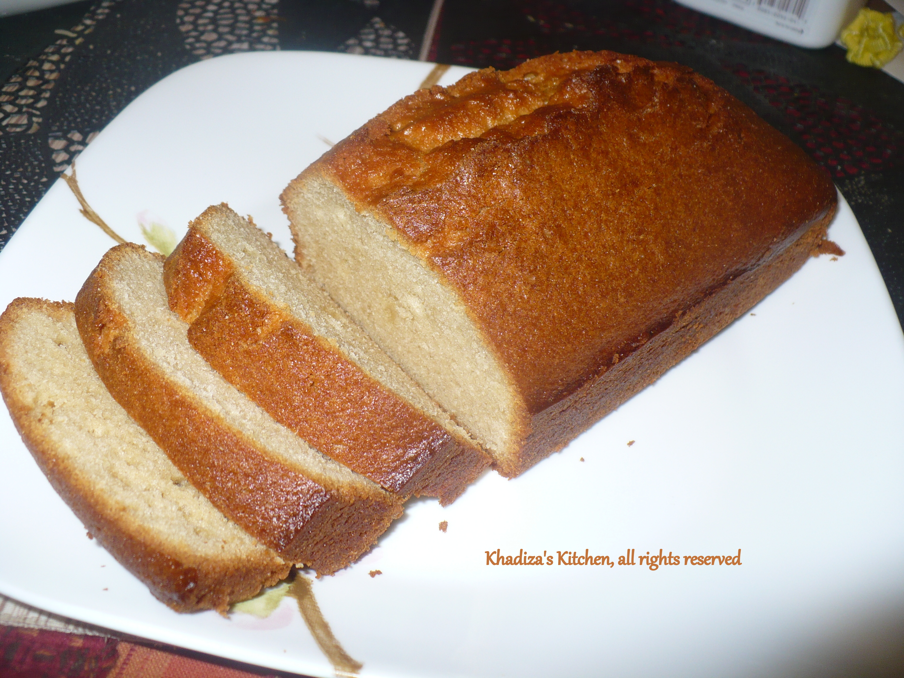 Laura Vitale Lemon Pound Cake