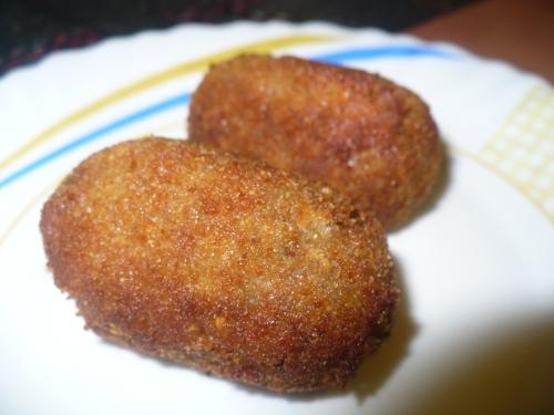 Croquette / Beef- potato-noodles kabab