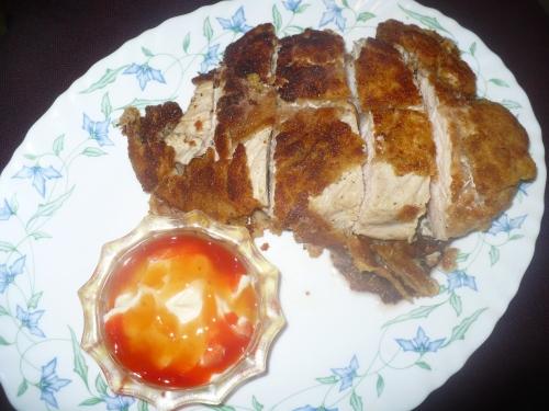 Chicken Katsu , Japanese Chicken cutlet
