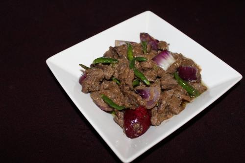 Chili Beef, Desi Chinese Style
