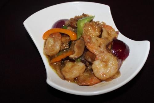 Shrimp Mushroom, Oriental style