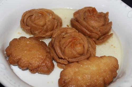 Golap Pitha ( rose pitha)