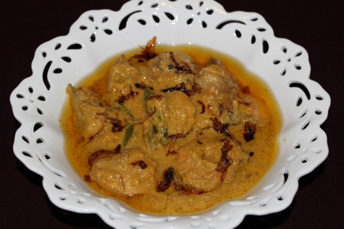 Zafrani Chicken Korma