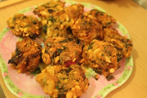 Crunchy Piyaju/ lentil fritters