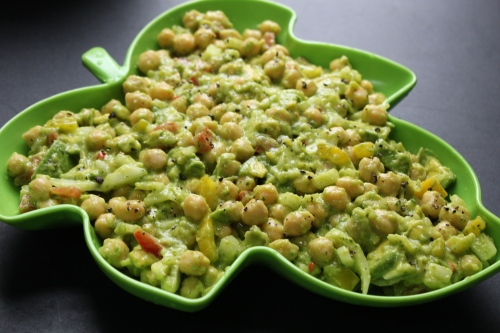 Chickpea-Avocado Salad