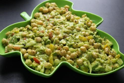 Chickpea-Avocado Salad