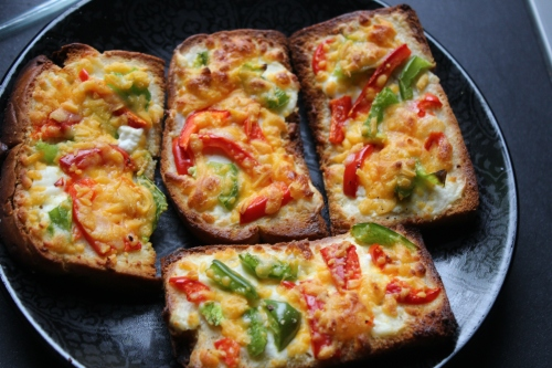 Garlic-Cheese toast