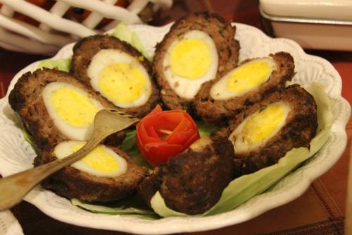 Nargisi kofta / kabab