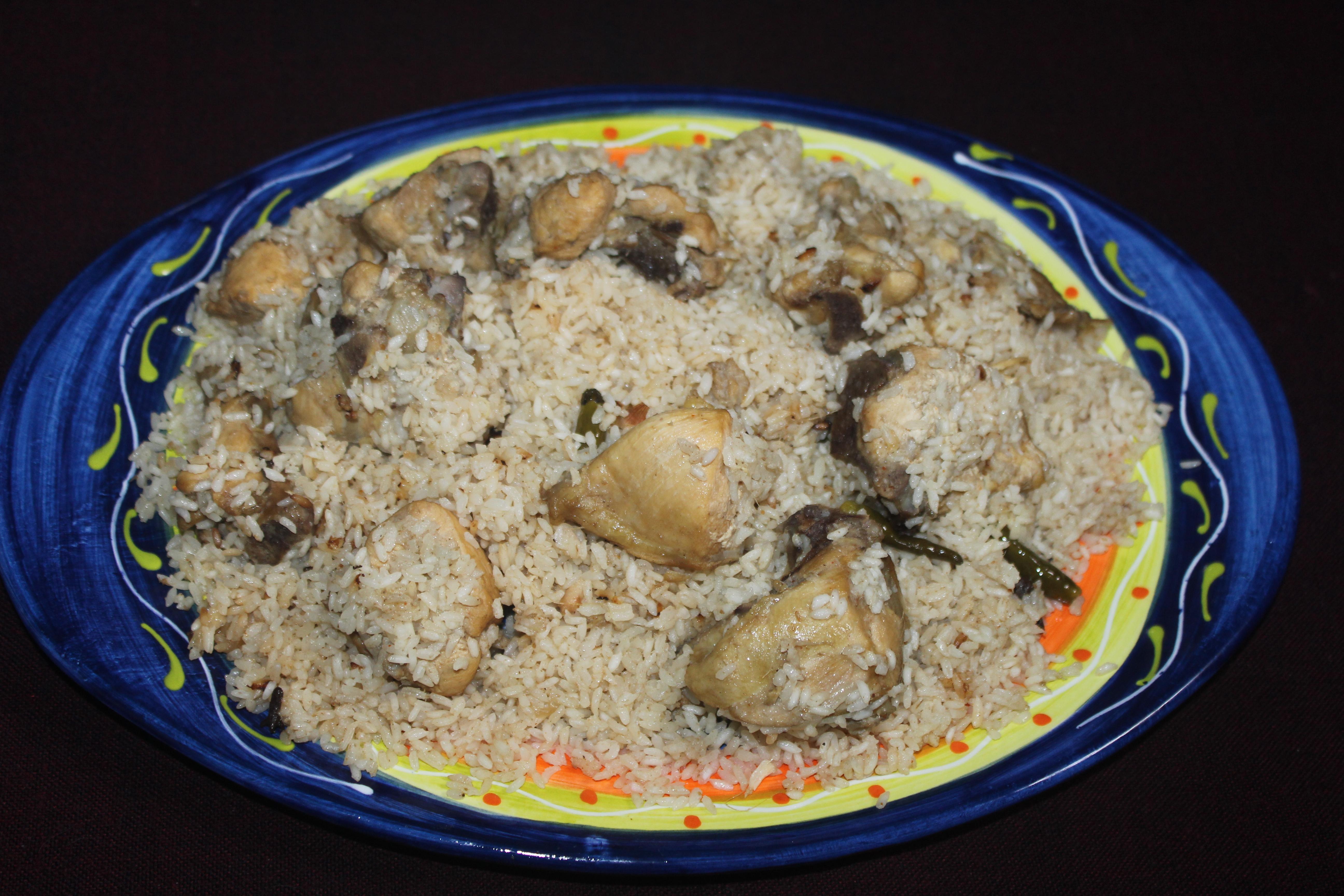 Chicken pulao khadizas kitchen chicken pulao forumfinder Images